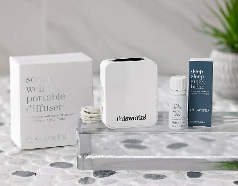 This Works Deep Sleep Superblend Fragrance Diffuser Set