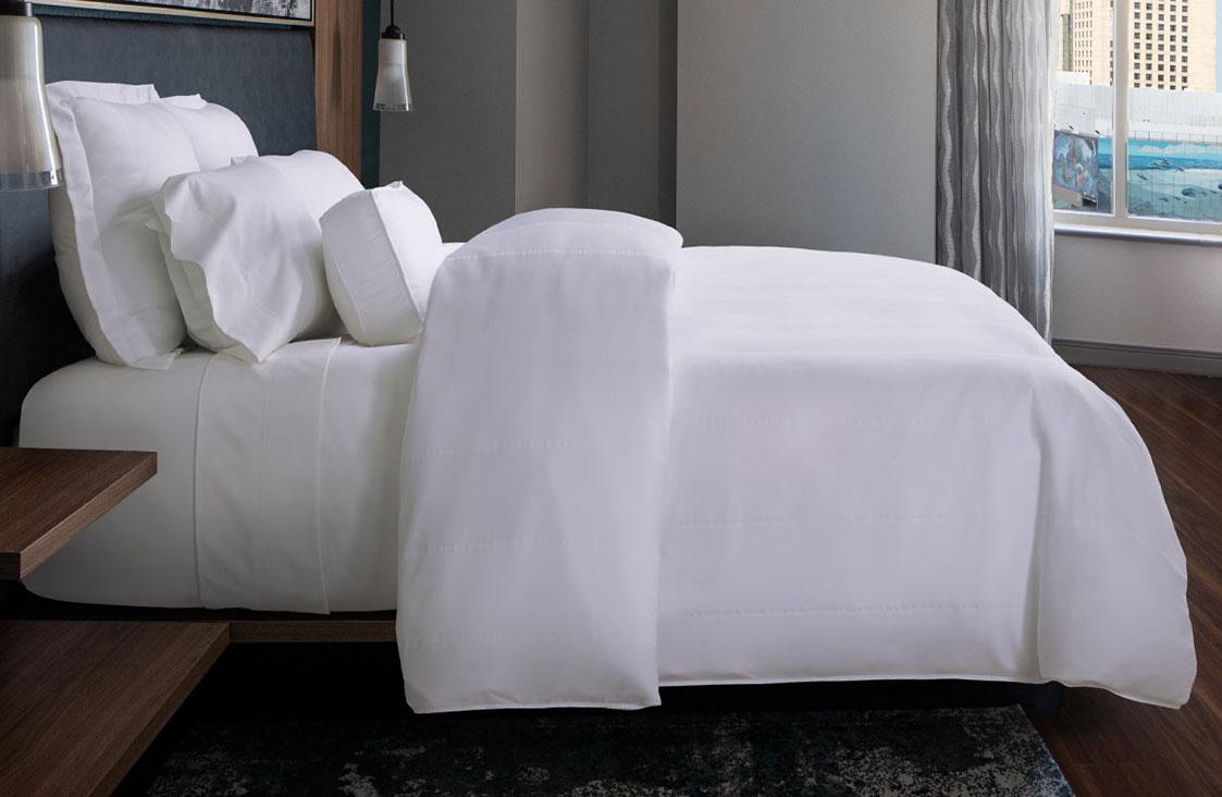 Buy Luxury Hotel Bedding From Marriott Hotels Bird S Eye Stripe
