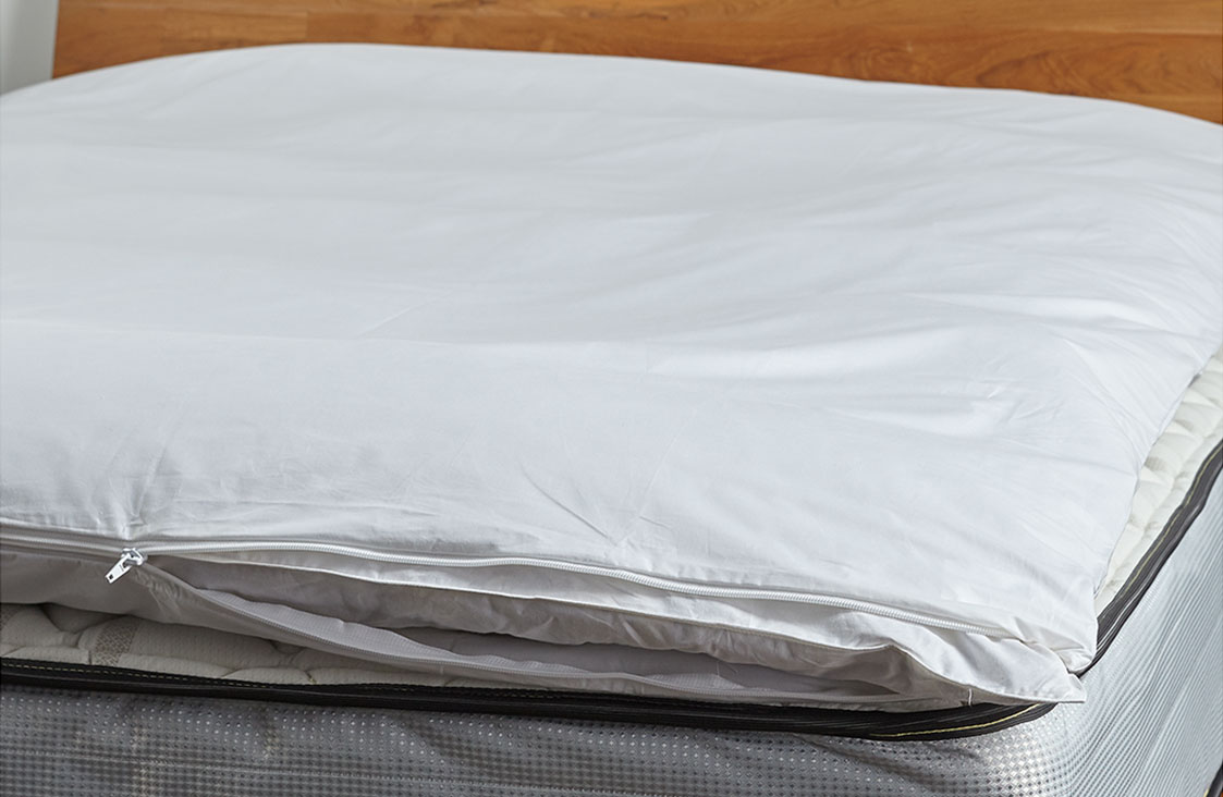 Buy Luxury Hotel Bedding From Marriott Hotels Featherbed Protector