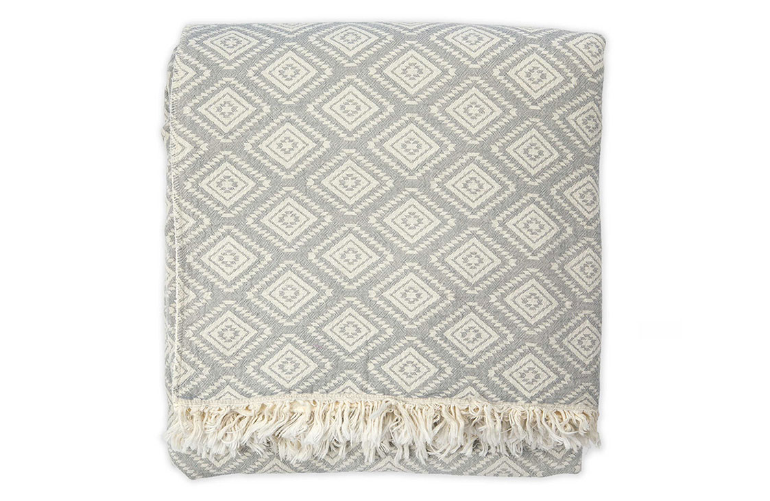 Diamond Fleece Throw
