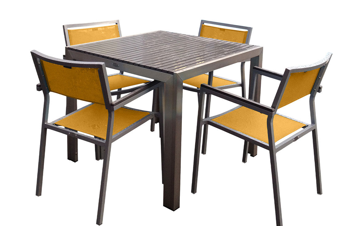 Nassau 5pc Dining Set