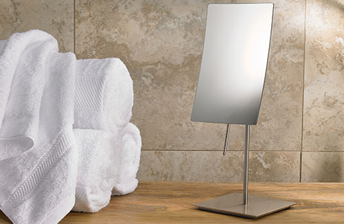 Minimalist Table-Top Vanity Mirror