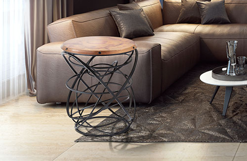 Orbits Accent Table