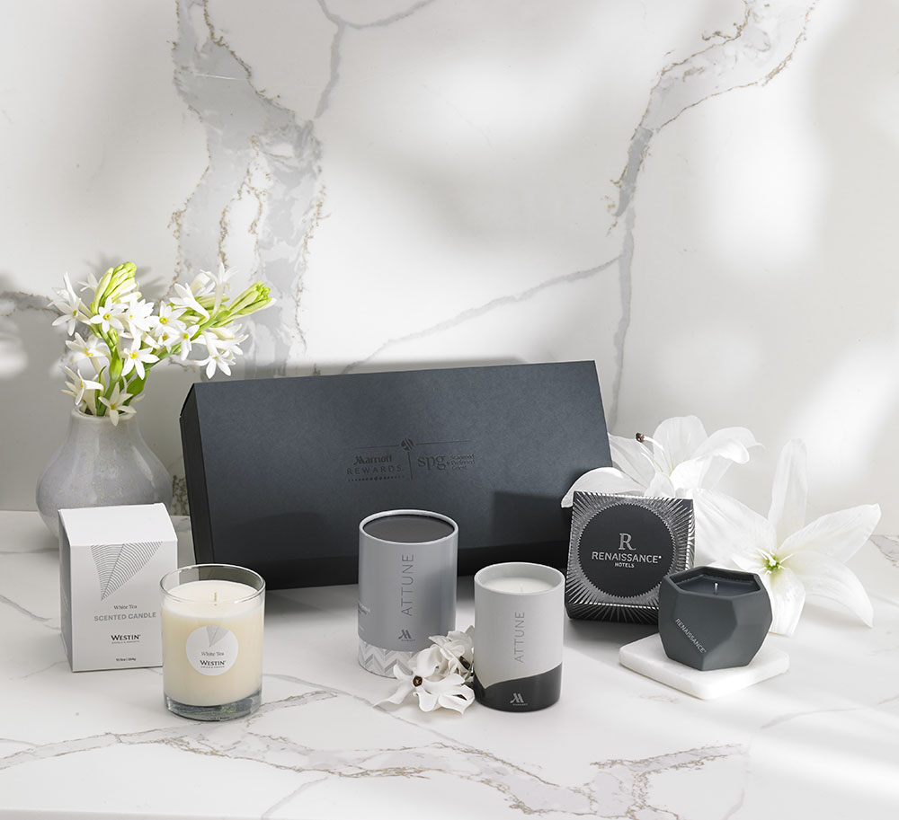 Marriott Hotel Candle Collection