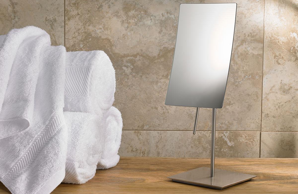 Perfect Marriott Minimalist Table Top Vanity Mirror