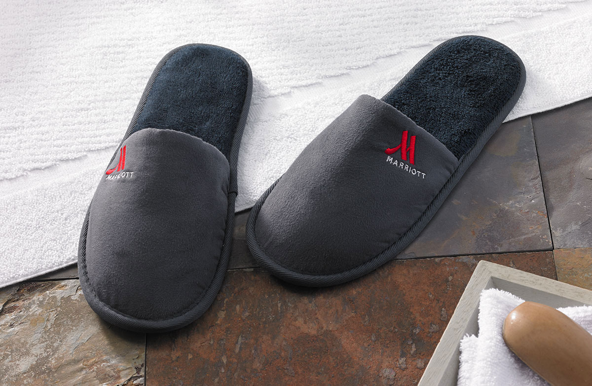 Buy Luxury Hotel Bedding From Marriott Hotels Hotel Slippers